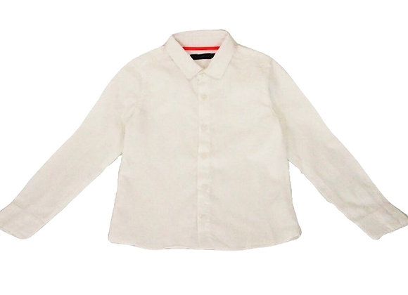 Chemise Little Couture blanche 6 ans