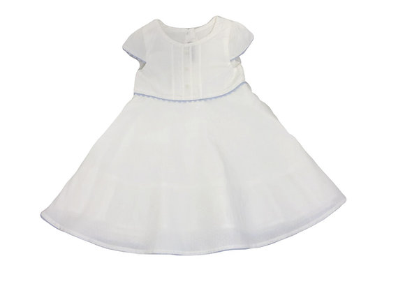 Robe Sergent Major blanche 18 mois