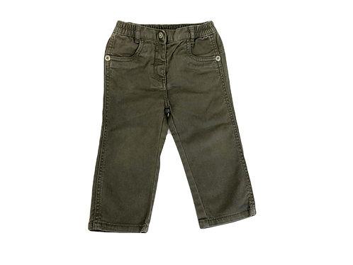 Pantalon Mexx droit kaki 12-18 mois