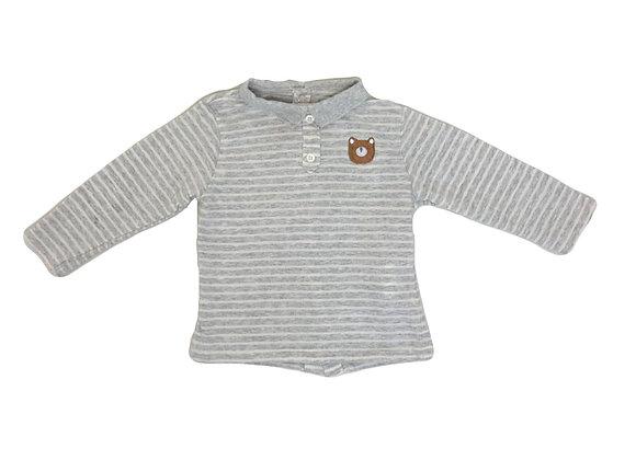 Polo Cadet Rousselle gris 12 mois