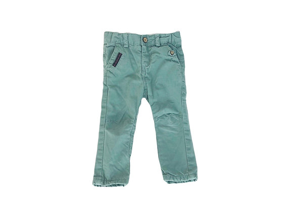 Pantalon Tape à l'oeil vert 12 mois