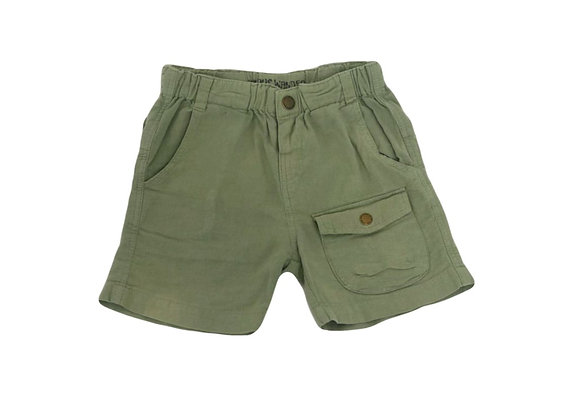 Short Zara kaki 18/24 mois (92cm)