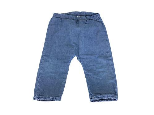 Sarouel Catimini bleu imitation jean 12 mois mixte
