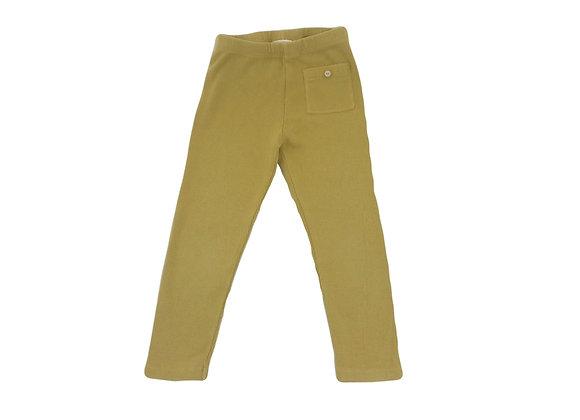 Legging Zara jaune 3/4 ans (104cm)