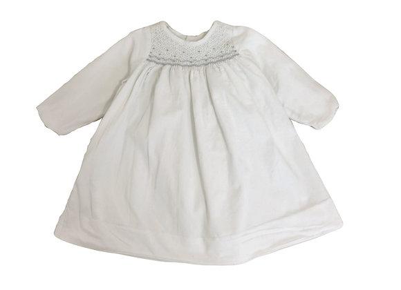 Robe Jacadi velours blanc 18 mois