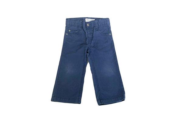Pantalon Bout'chou bleu 12 mois