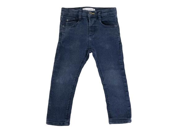 Pantalon Zara bleu 2/3 ans (98cm)