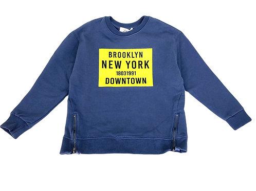 Sweat Zara bleu 9 ans