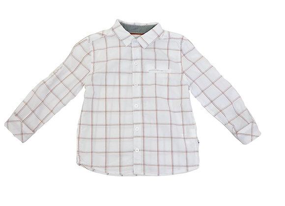 Chemise Okaidi à carreaux 3 ans
