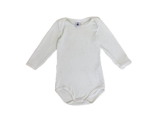 Body Petit Bateau blanc 18 mois
