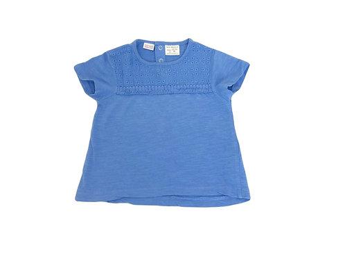 T-shirt Zara bleu 18/24 mois (92cm)
