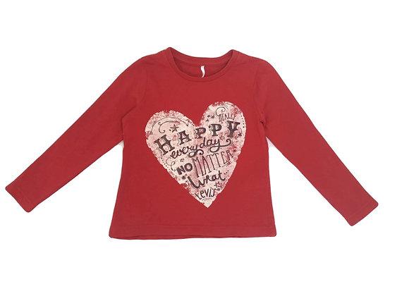 T-shirt Levi's rouge 4 ans
