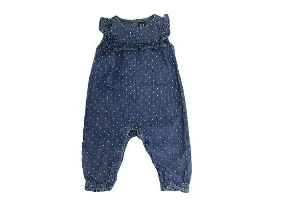 Combinason Baby Gap en jean 6/12 mois