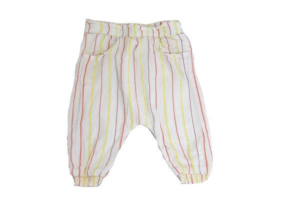 Pantalon Tape à l'oeil en toile 9 mois