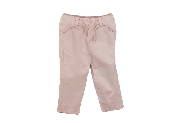 Pantalon Cadet Rousselle carotte rose 18 mois