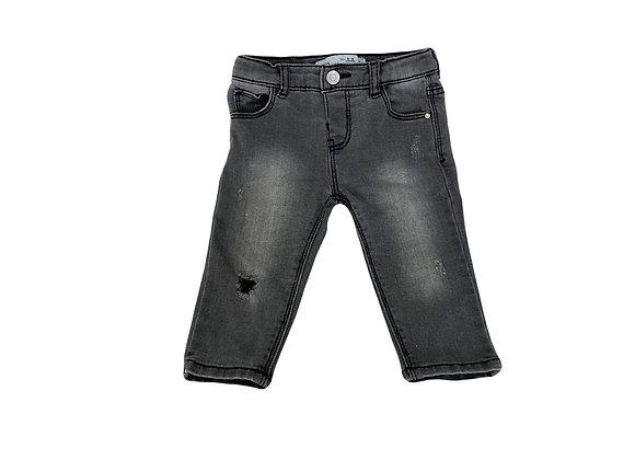 Jean Zara gris 6/9 mois (74cm)