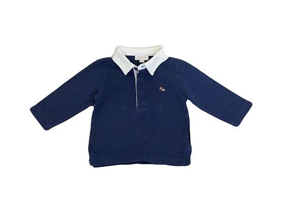 Polo Jacadi bleu 6 mois