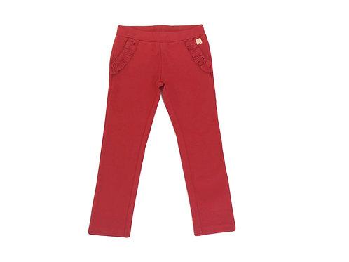 Pantalon Carrément Beau rouge 4 ans neuf