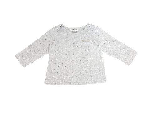 T-shirt Cyrillus imprimé 12 mois mixte
