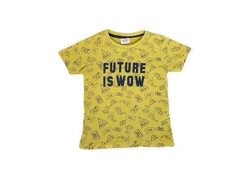 T-shirt Tape à l'Oeil  jaune 2 ans