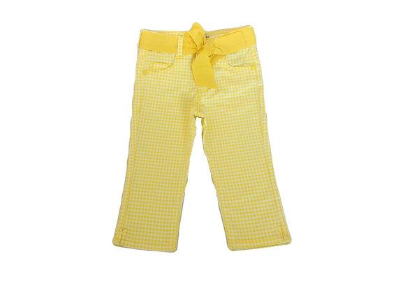 Pantalon Okaidi skinny jaune 3 ans neuf