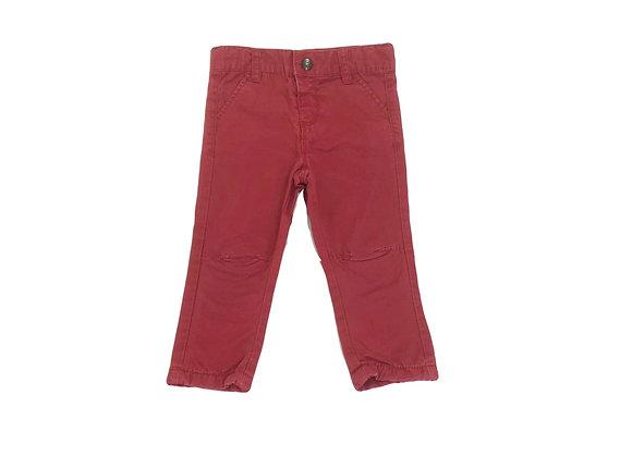 Pantalon Tape à l'oeil bordeaux 18 mois