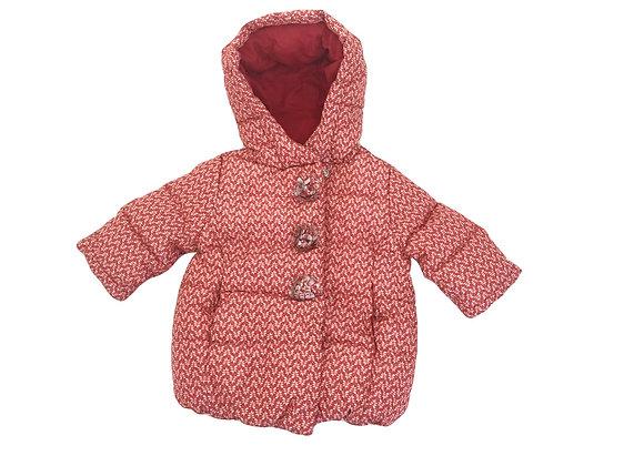 Manteau Natalys rouge 6 mois
