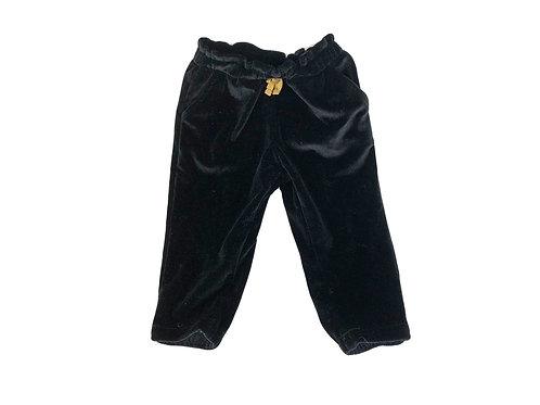 Pantalon Vertbaudet en velour noir 12 mois