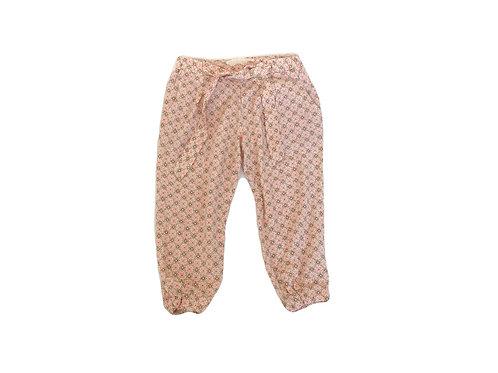 Pantalon Zara en toile imprimée 3/4 ans