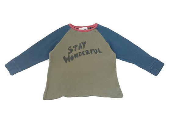 T-shirt Zara colorbloc 6 ans