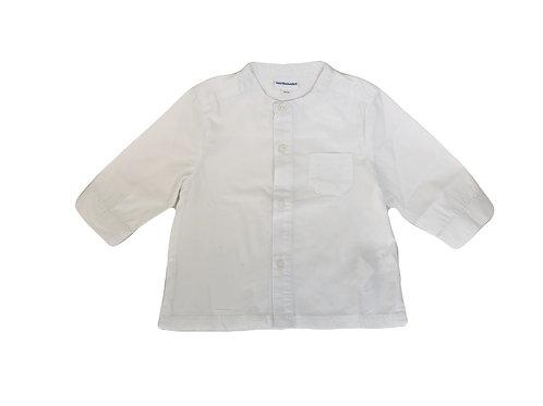Chemise Vertbaudet blanche 12 mois