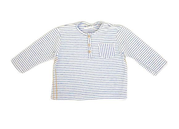 T-shirt Zara à rayures 6/9 mois (74 cm)