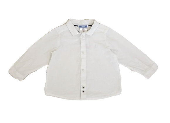 Chemise Jacadi blanche 12 mois