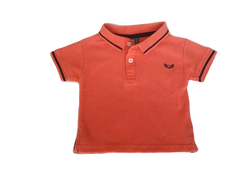 Polo Devil Child orange fluo 18 mois