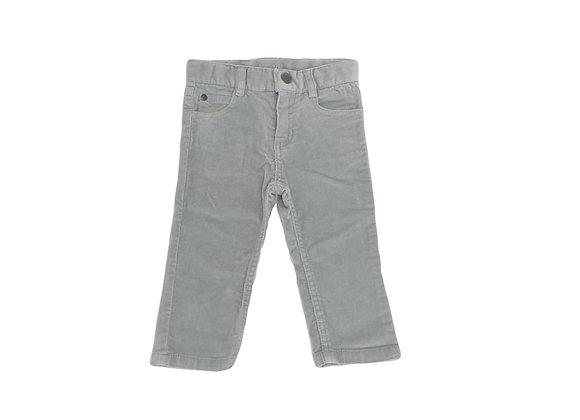 Pantalon Jacadi en velours gris 12 mois