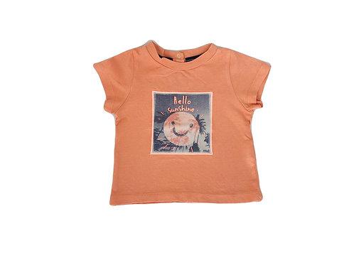 T-shirt Tape à l'oeil orange 6 mois