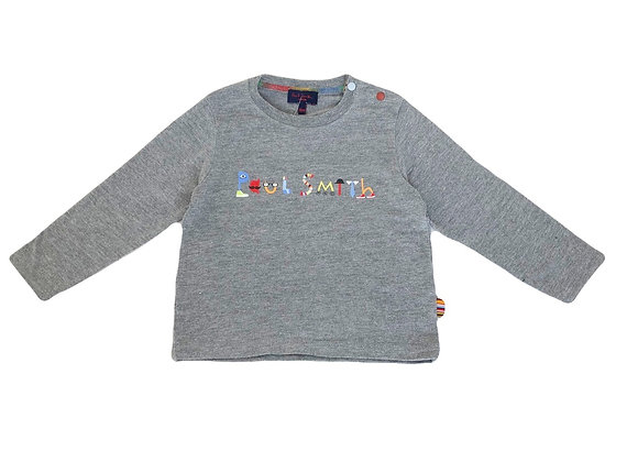T-shirt manches longues Paul Smith gris 18 mois