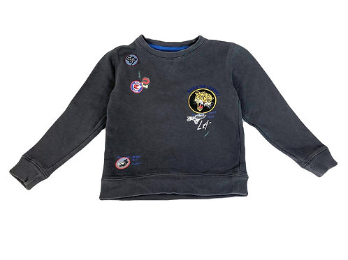 Sweat W.E. gris 7/8 ans
