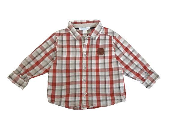 Chemise Obaibi à carreaux 12 mois