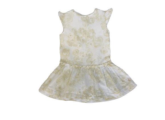 Robe Petit Bateau  dorée 18 mois
