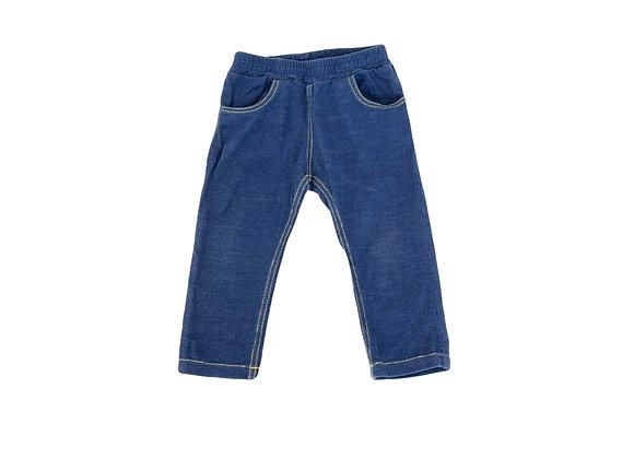 Legging Petit Bateau imitation jean 12 mois mixte