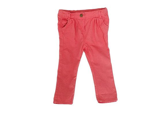 Pantalon Tape à l'Oeil carotte rose 18 mois