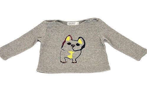 T-shirt Comptoir des Cotonniers gris 6 mois