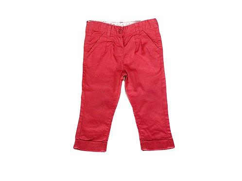 Pantalon carotte Bout'chou rose 12 mois