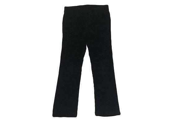 Pantalon Cyrillus en velour côtelé noir 6 ans