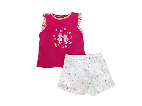 Ensemble Sergent Major de plage 2 ans