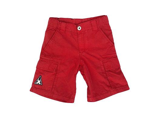 Short Gaastra en coton léger rouge 7 ans