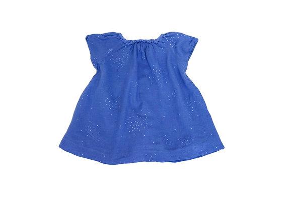 Robe Zara bleue 9/12 mois (80cm)