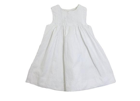 Robe Jacadi en velours blanche 18 mois