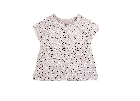 T-shirt Obaibi fleuri 12 mois